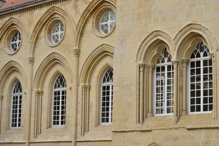 Caen; France - july 17 2017 : the duke palace Editorial