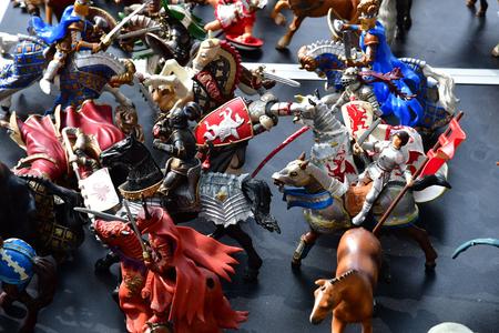 Versailles; France - june 10 2018 : toy at the flea market