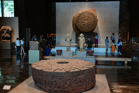 Mexico;  United Mexican State - may 13 2018 : the anthropology museum Editoriali