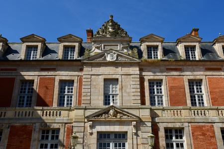 Chamarande; France - june 3 2018 : the castle build in 1654 Editöryel