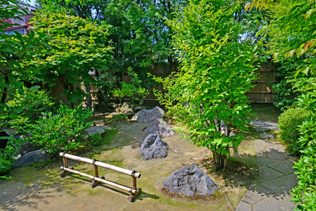 Kanazawa, Japan - august 3 2017 : the Nagamachi samourai house district Banque d'images - 116506414