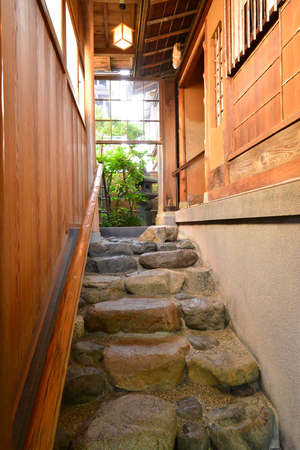 Kanazawa, Japan - august 3 2017 : the Nomura house in the Nagamachi samourai district Banque d'images - 119732824