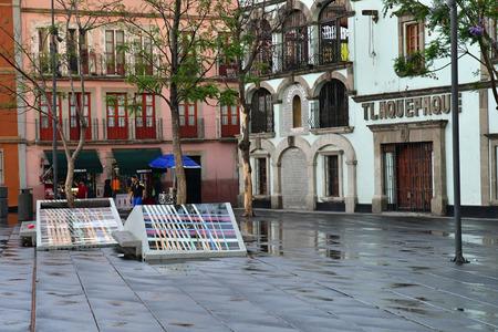 Mexico;  United Mexican States - may 13 2018 : the Garibaldi square Editorial