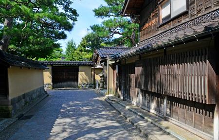 Kanazawa, Japan - august 3 2017 : the Nagamachi samourai house district Banque d'images - 119734430