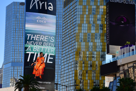 Las Vegas, USA - july 11 2016 : the Strip 新聞圖片