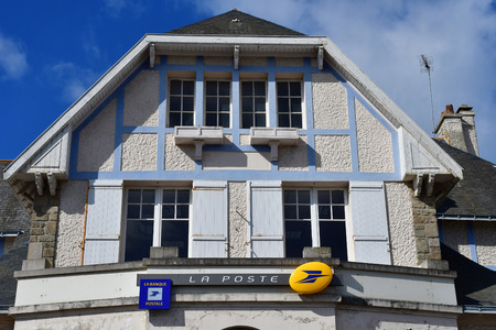 Pornichet, France - april 16 2017 : the post office