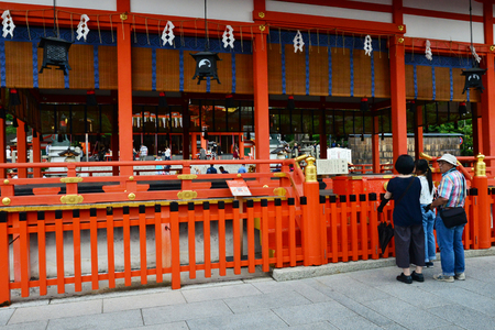 Kyoto, Japan - august 8 2017 : the Fushimi Inari Taisha shrine 報道画像