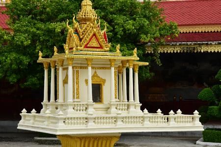 Phnom Penh; Kingdom of Cambodia - august 20 2018 : the Royal Palace 報道画像