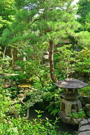 Kanazawa, Japan - august 3 2017 : the Nomura house in the Nagamachi samourai district Editorial