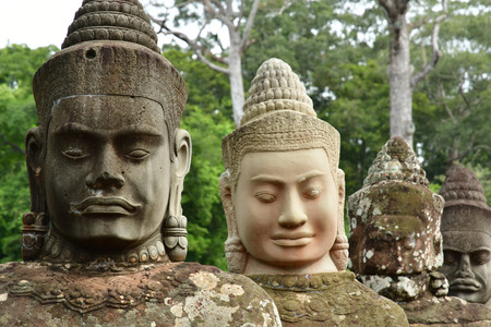 the Angkor Thom temple