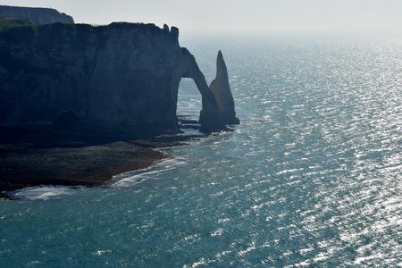 Etretat, France - may 10 2017 : the cliffs