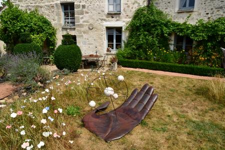 Wy dit joli village , France - july 27 2018 : the Claude Pigeard tool museum Stock Photo