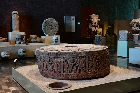 Mexico; Verenigde Mexicaanse Staat - 13 mei 2018: het antropologisch museum