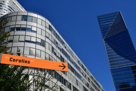 Paris La Defense; France - may 25 2017 : La Defense district, the biggest business distric in Europe