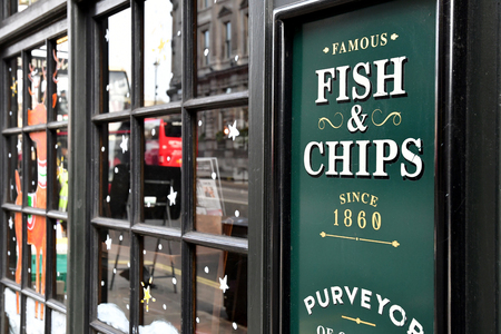 London, England - december 23 2017 : pub in the Westminster city Reklamní fotografie