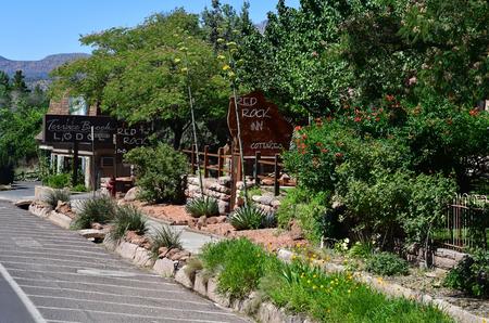 Zion park, Utah, USA - july 10  2016 : the National Park Redakční