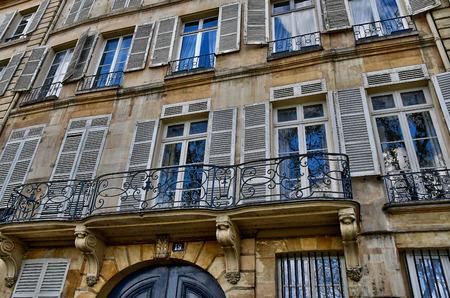 Paris; France - april 2 2017 : the ile saint louis