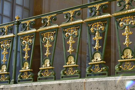 Versailles; France - october 14 2018 : guardrail in the Grand Trianon Sajtókép