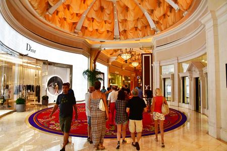Las Vegas, USA - july 11 2016 : the Strip Sajtókép