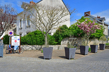 Piriac sur Mer, France - april 14 2017 : the picturesque village in spring