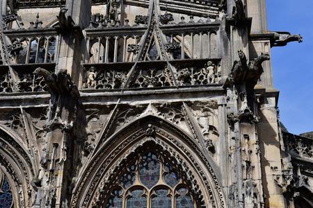 Pont de l Arche; France - march 30 2017 : the church of arts