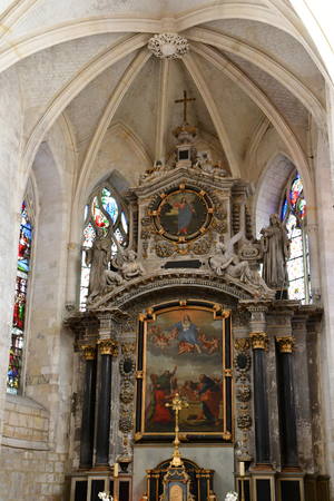 Montivilliers ; France - may 11 2017 : the historical abbey