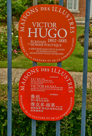 Villequier; France - may 11 2017 : the Victor Hugo museum