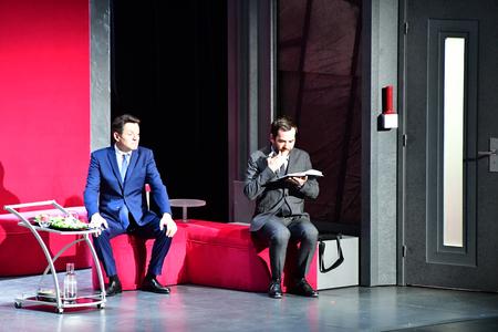 Les Mureaux; France - april 7 2019 : theatre cest encore mieux laprès midi