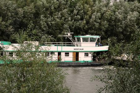 Les Mureaux; France - september 16 2017 : the Seine riverside