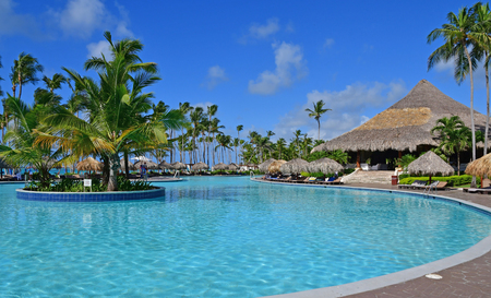 Punta Cana, Dominican Republic - june 2 2017 : an hotel