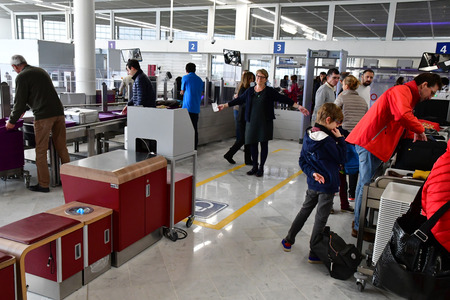 Orly, France - february 21 2018 : the Orly airport