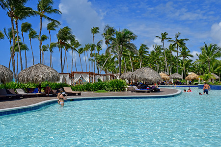 Punta Cana, Dominican Republic - june 1 2017 : an hotel