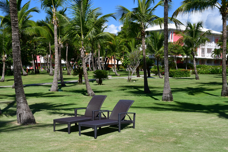 Punta Cana, Dominican Republic - may 29 2017 : tourism hotel
