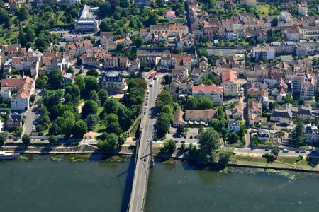 aerial picture of the city