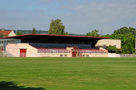 Les Mureaux; France - september 16 2017 : the stadium