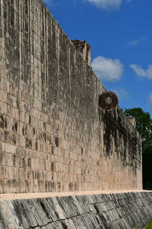 Chichen Itza; United Mexican States - may 13 2018 : the pre Columbian site Editorial
