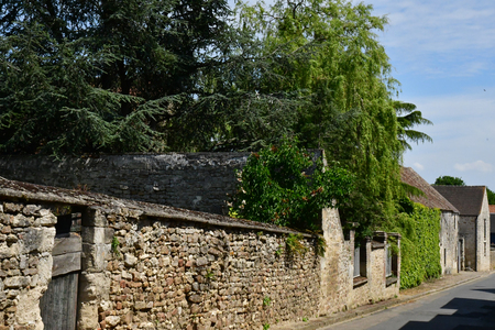 Wy dit joli village; France - may 24 2019 : the pictureque village