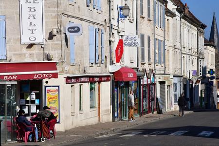 Magny en Vexin; France - april 3 2017 : the picturesque historical centre of the city Sajtókép