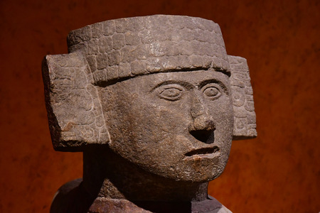 Mexico; United Mexican State - may 13 2018 : the anthropology museum
