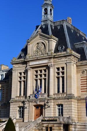 Evreux; France - january 17 2017 : the city hall Redakční