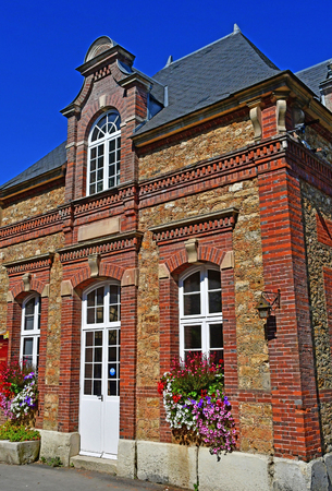 Thoiry; France - august 16 2016 : the classical castle