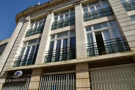 Vendome; France - june 28 2019: the post office
