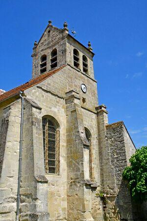 Wy dit joli village; France - may 24 2019 : the church