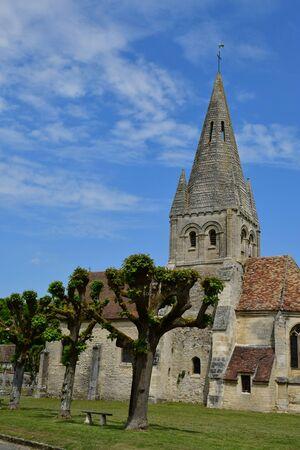 Gadancourt, France - may 24 2019 : the Saint Martin church