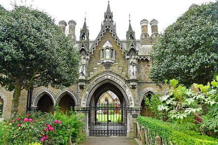 London, England - may 6 2019 : the Highgate cemetery opened in 1839