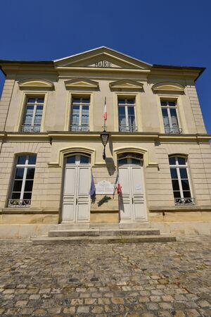 Themericourt, France - may 4 2018 : the city hall