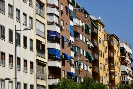 Granada; Spain - august 27 2019 : the modern part of the city Stock fotó