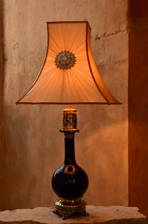 Vendome; France - june 28 2019: lamp in the museum of Vendome