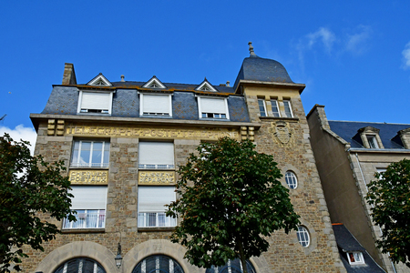 Saint Malo; France - july 28 2019 : the post office