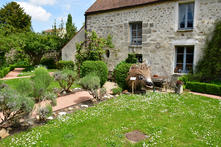 Wy dit joli village; France - may 24 2019 : the tool museum in the pictureque village